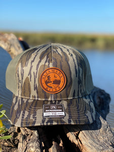 Altamaha River Company Bottomlands Leather Patch Snapback