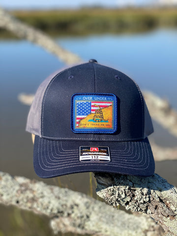 Gadsden Flag Mesh Back Navy