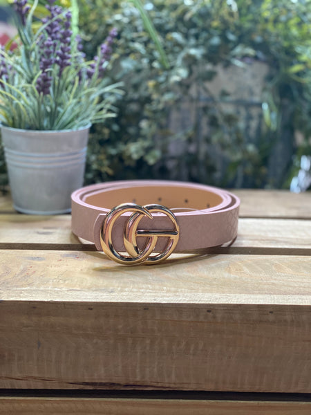 Blush Designer Inspired Belt