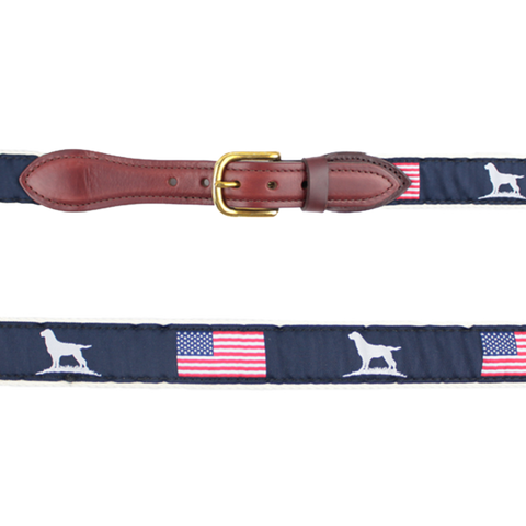 Patriot Belt - Ribbon Belt