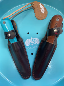 Leather Oyster Knife Sheath