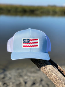Canton Trucker Hat Light Blue