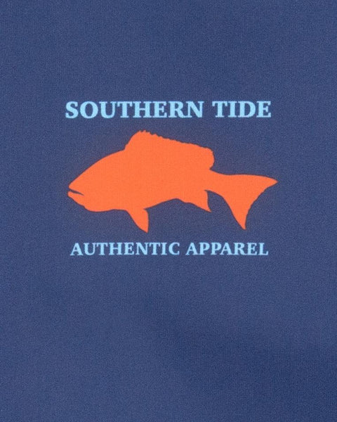 Boy's Southern Tide Offshore Performance LS Tee