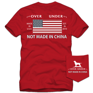 S/S Not Made in China T-Shirt Regatta Red