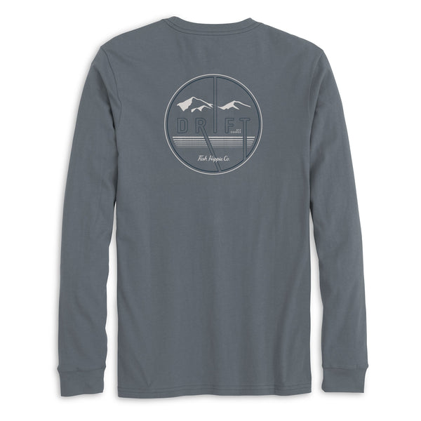Fish Hippie Drift Up LS Tee