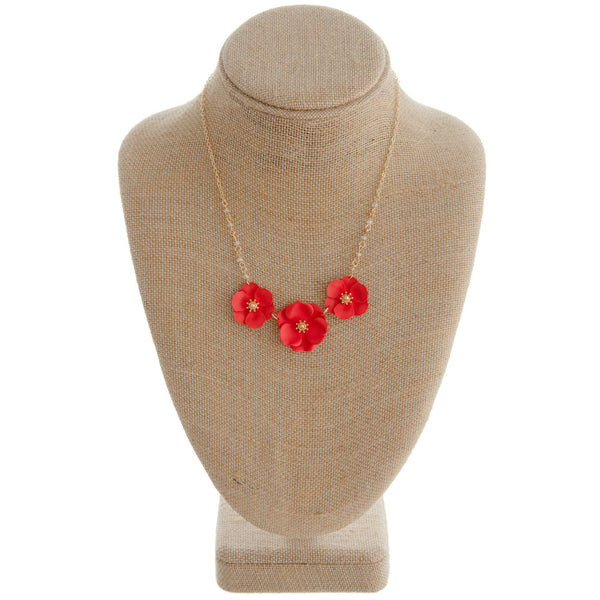 Dainty Flower Necklace