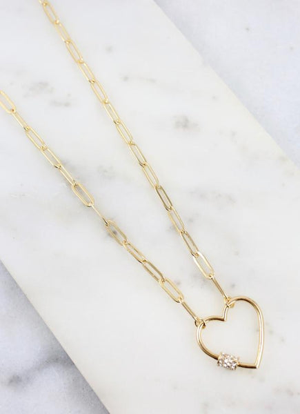 Shepherd Heart Link Necklace
