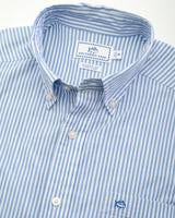 Skipjack Seersucker Striped Sport Shirt