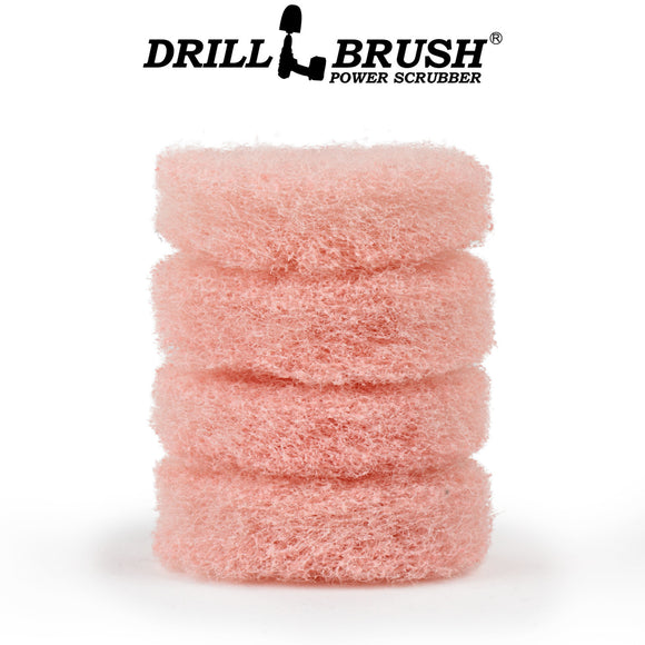 3 Inch Pink Scrubbing Pad Refill
