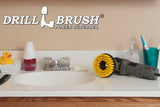 5in Yellow Brush - Medium Stiffness - Shower Mat & Tile Cleaning | 5in-S-Y-T-DB
