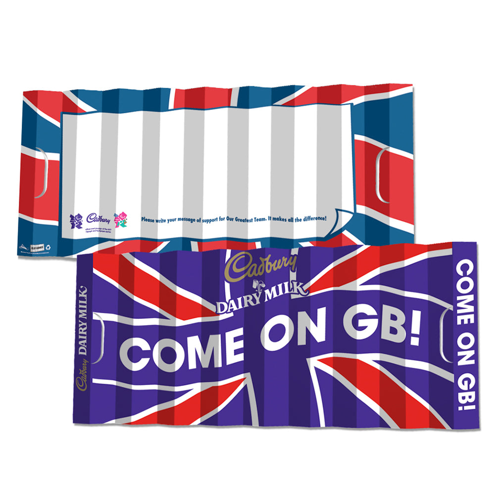 Cadbury - COME ON GB!