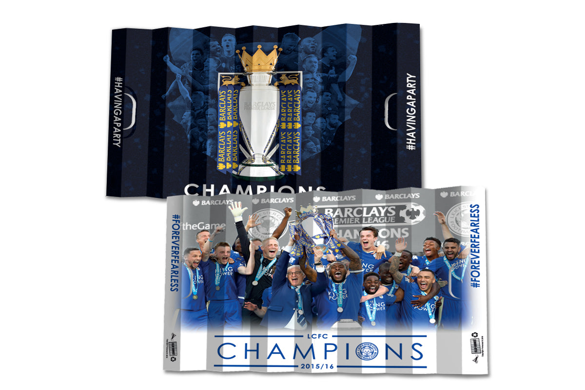 Leicester City FC - Champions 2015-16 (340 x 490 mm)