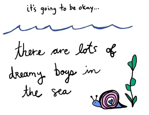 There Are Many Dreamy Boys In The Sea