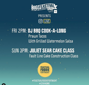 The Big Festival Cook-a-long LIVE - Get Yo Prawn Taco & Grill On🤘