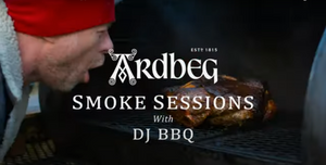 DJ BBQ How to cook steak directly on coals: Law of Heat - The Ardbeg Smoke Sessions