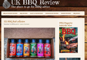 DJ BBQ Rubs Get Top Review!