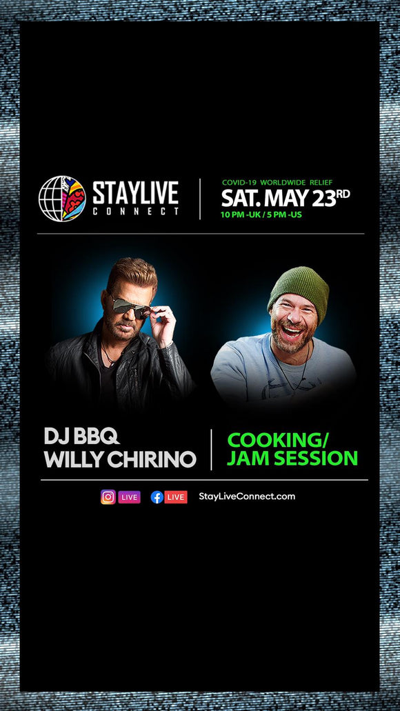 Willy Chirino & DJ BBQ Cook along live Jam session
