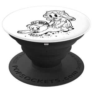 DJ BBQ Luv Rub PopSockets Grip and Stand for Phones and Tablets