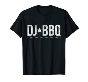 DJ BBQ Solo Barbecue Food and Entertainment T-Shirt
