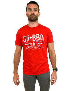 DJ BBQ Screen Printed Slow & Low With Southern Soul T-Shirt