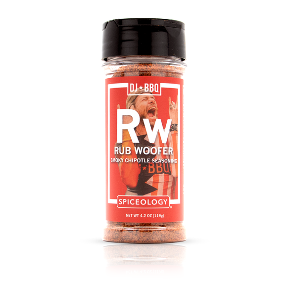 DJ BBQ Rub Woofer Barbecue Rub Smoky Chipotle Seasoning Mix