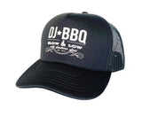 DJ BBQ Trucker Cap Slow & Low With Southern Soul Unisex Mesh classic Style Baseball Cap