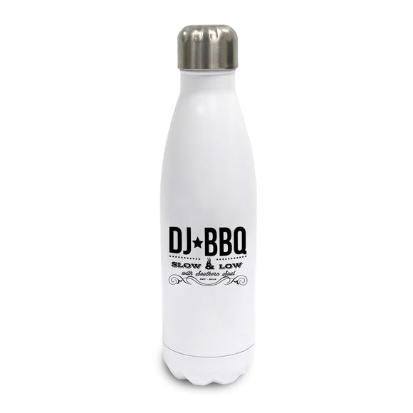 DJ BBQ Slow and Low Hot or Cold Water Bottle | Thermo Flask White
