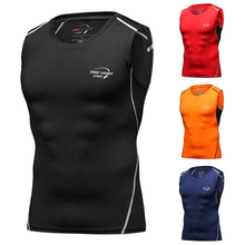 Load image into Gallery viewer, Men's sports bodybuilding sleeveless