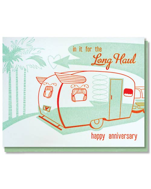 Long Haul Anniversary Card
