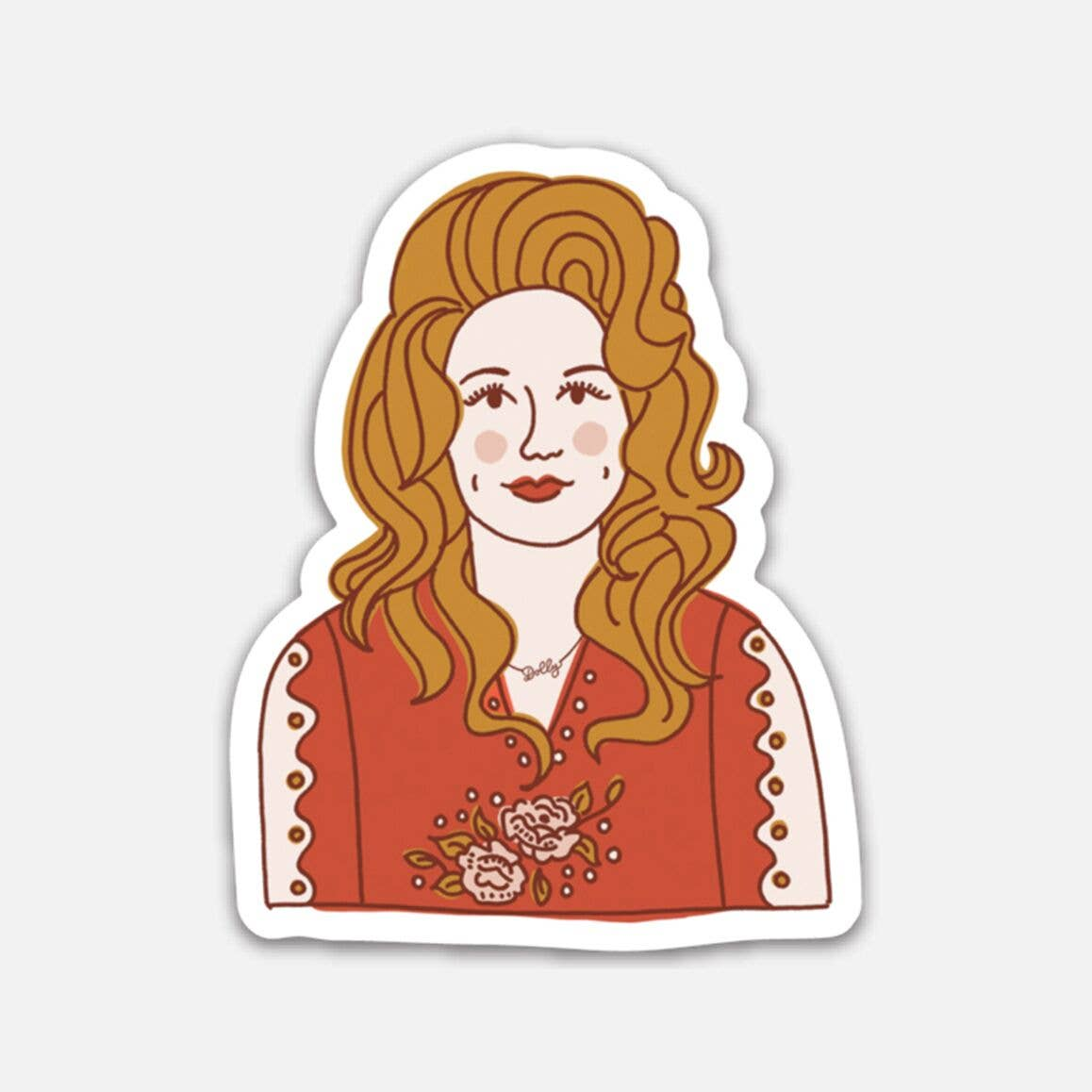 Dolly Parton (Vinyl Sticker)