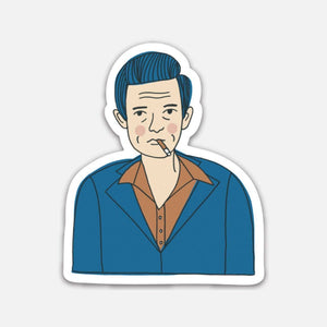 Johnny Cash (Johnny Sticker)