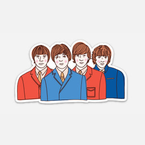 The Beatles (Vinyl Sticker)