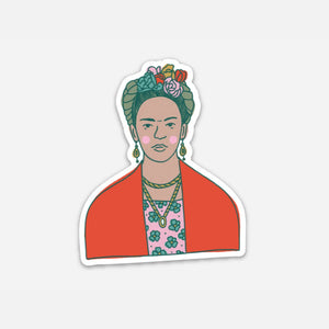 Frida Kahlo (Vinyl Sticker)