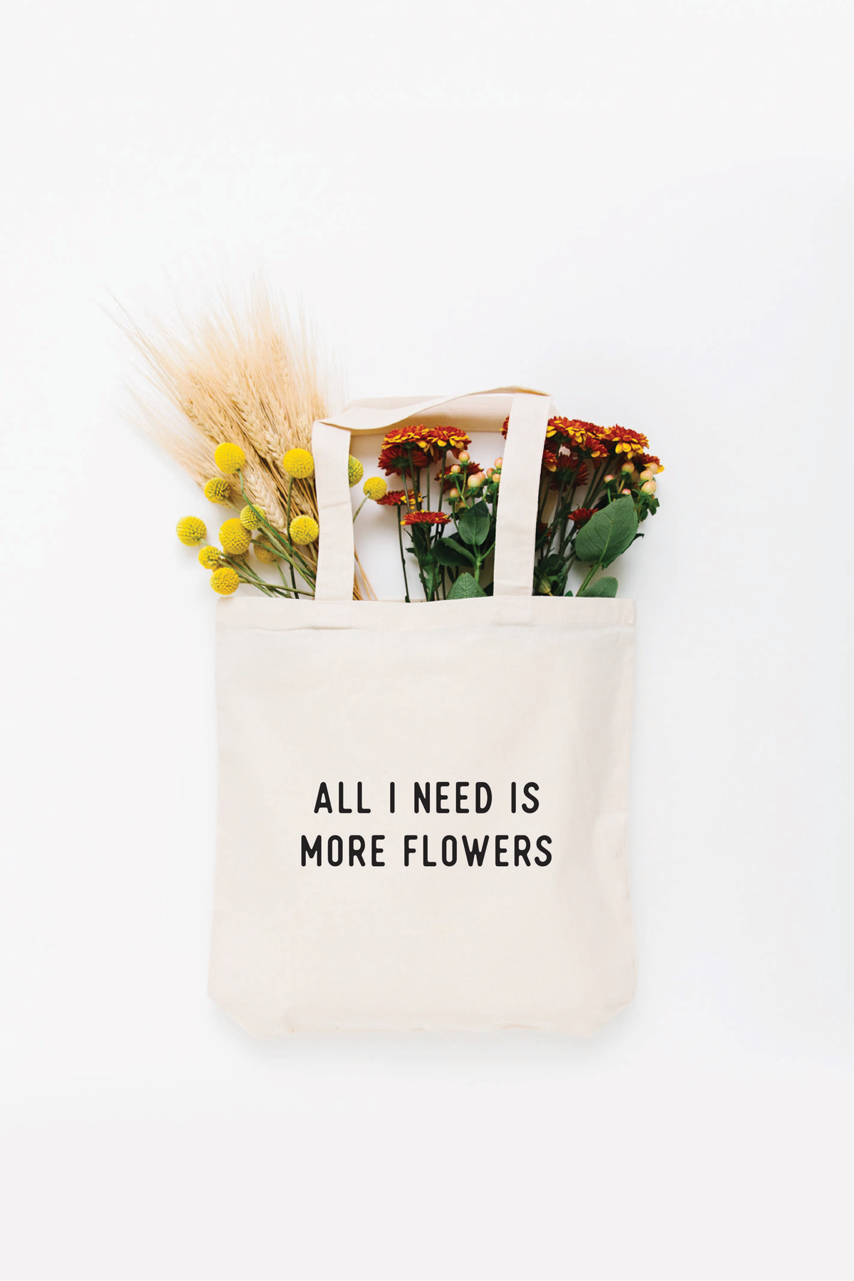 More Flowers Tote Bag