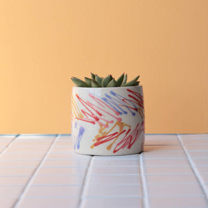 Scribble Planter - Beach
