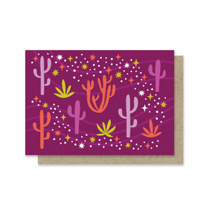 Desert Stars Mini Card