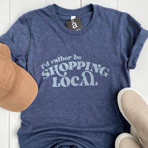 Shopping Local Tee