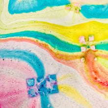 Load image into Gallery viewer, Give Yourself Space Rainbow Bath Bar