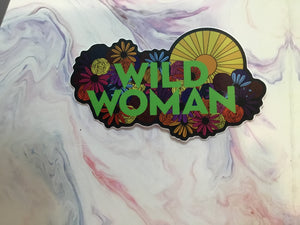 Wild Woman Sticker