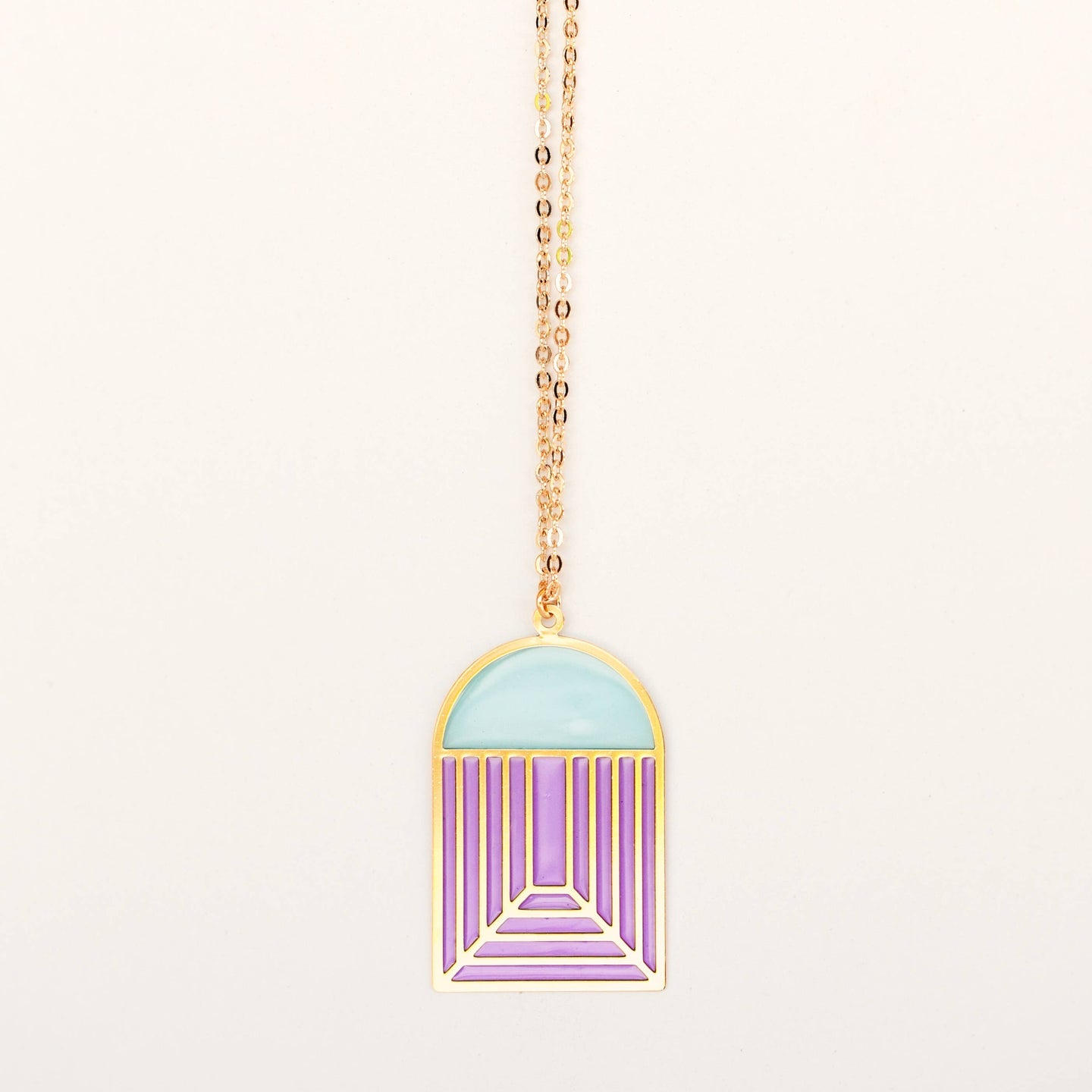 Translucent Charm Necklace