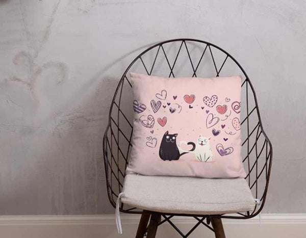 Cute home decoration pink pet cat pillow home decor pet lover