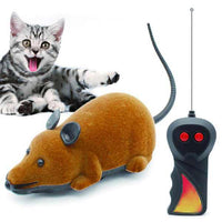 Wireless remote control mouse cat toy for playing with pet cats