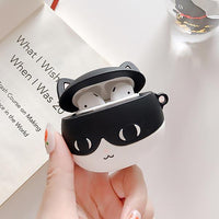 Cute Pet Cat Airpods Case Silicone Airpods 2 Case Cover Cats Lover Gift