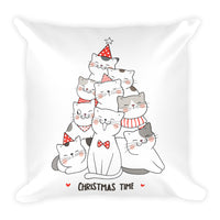 Unique Designer Handmade Pet Cats Christmas Decorative Pillow Home Decor Gift