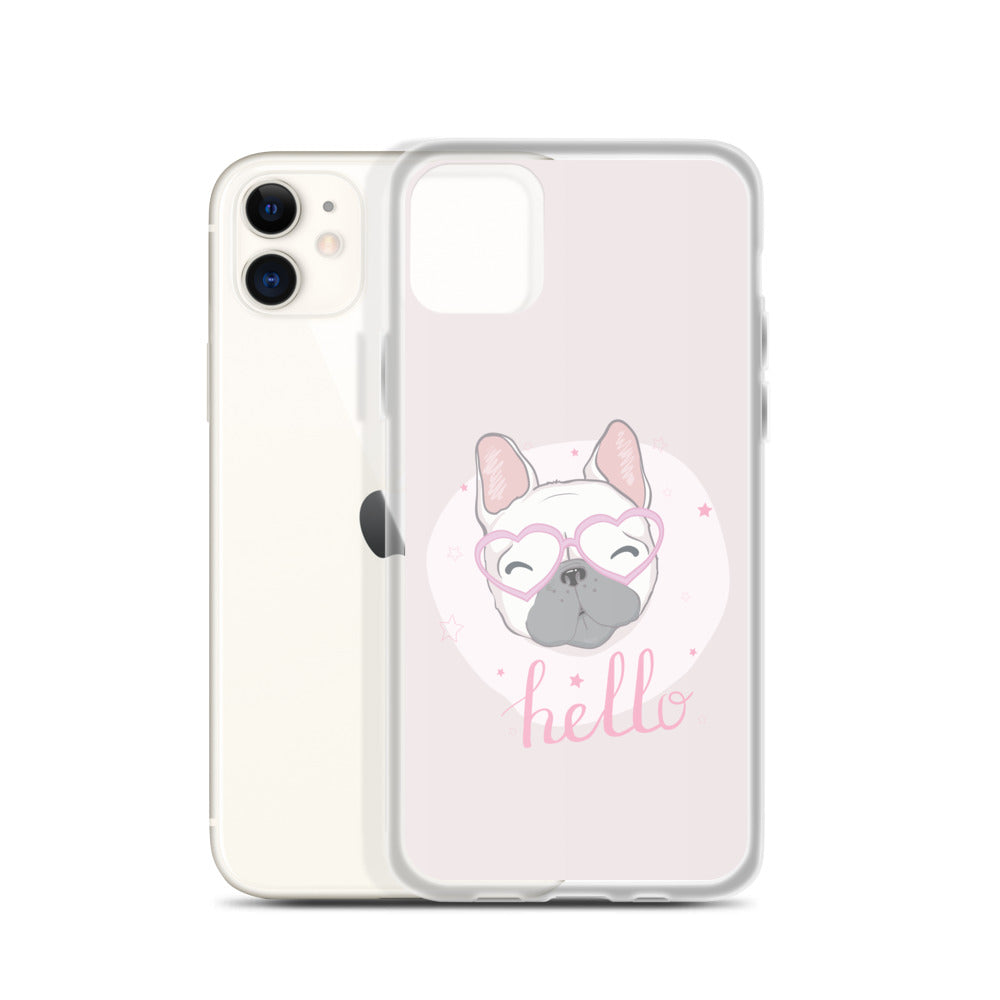 iPhone 11 Unique Designer Pink French Bulldog Pet Dog Lover iPhone Case Gift Pets Dogs