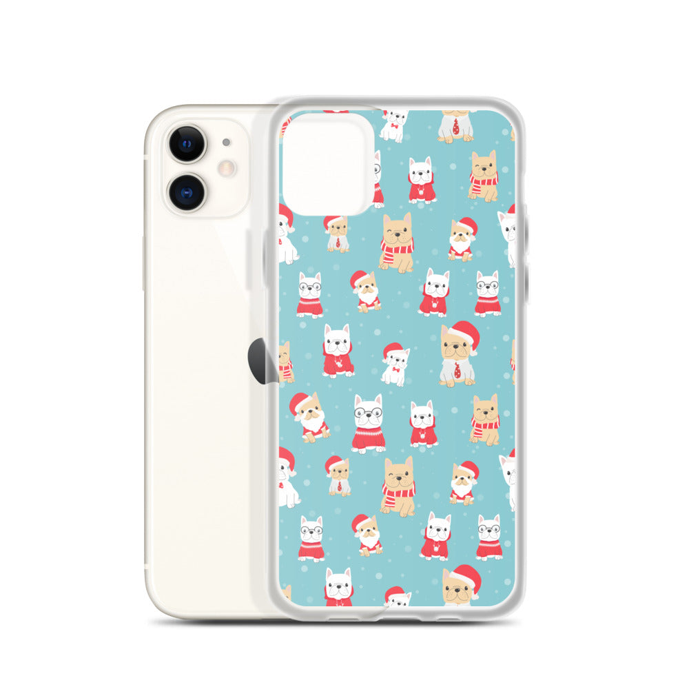 iPhone 11 Designer Handmade French Bulldog Christmas Gift Dog Lover Xmas