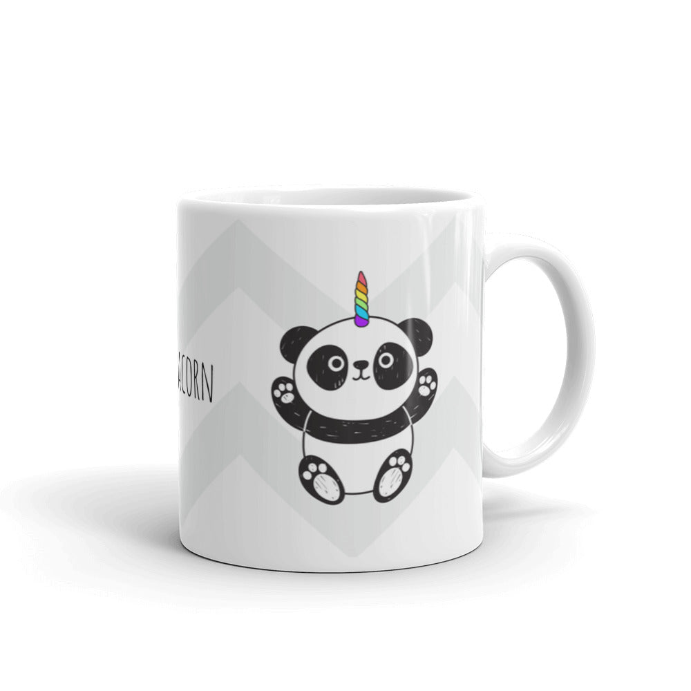 Cute Panda Unicorn Coffee Tea Drinking Mug Unique Design Gift Animal Lovers