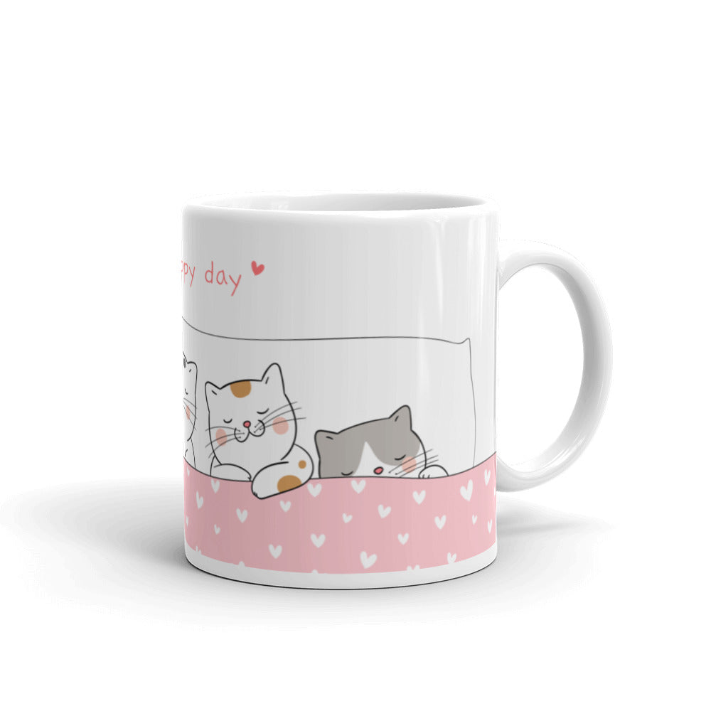 Unique designer artwork cute ceramic pet cats cat style mug cup coffee tea