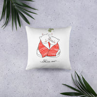 Cute Decorative Cats Christmas Pillow Gift Pet Lover Pet Cat Home Decor