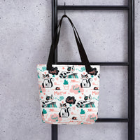 Unique designer latest fashion design tote bag pet cat dog cats dogs pets